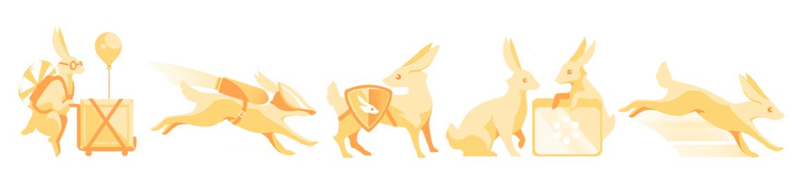 About Us Bunnies Header