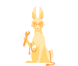 Technician Bunny Icon