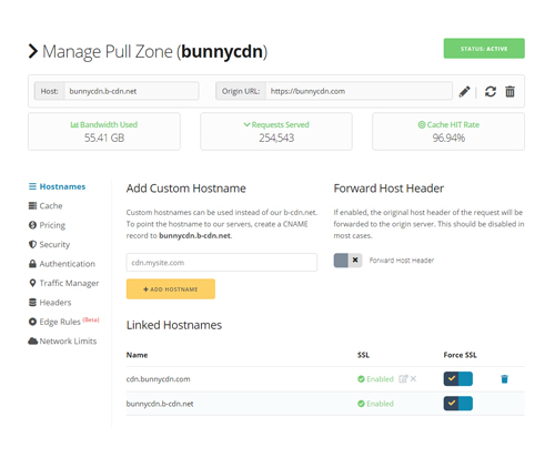 Pull Zone Manager Screenshot